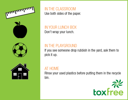 Toxfree Top Tips