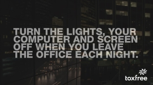 lights off