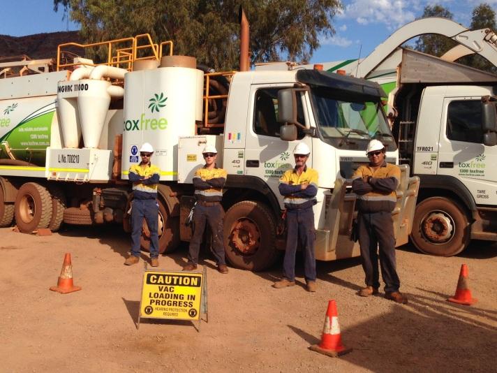 Vac truck Training Photo